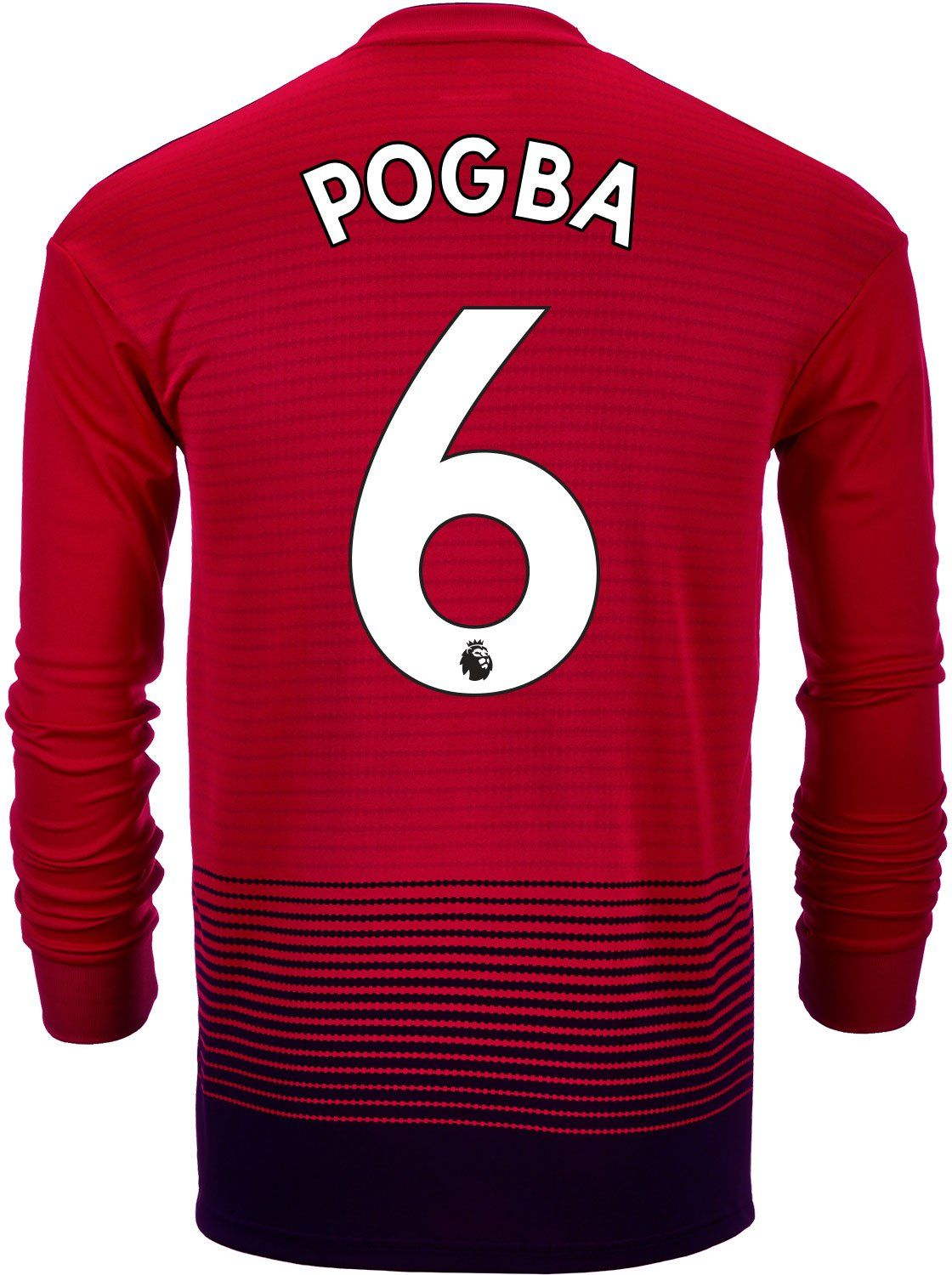 watch fb916 63360 2018/19 adidas Paul Pogba Manchester United L/S Home Jersey ...