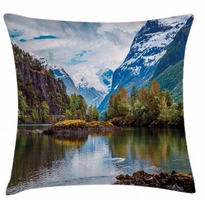 36 Throw Pillow Cover East Urban Home