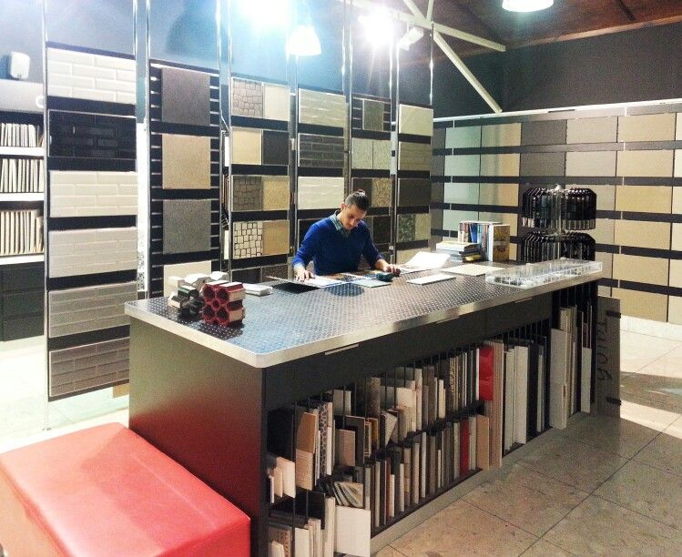 One Of Our Very Talented Interior Design Consultants, Neil, Hard At Work At  The