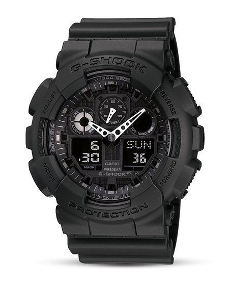 G Shock Oversized Analog/Digital Combo Watch, 55 x 51 mm