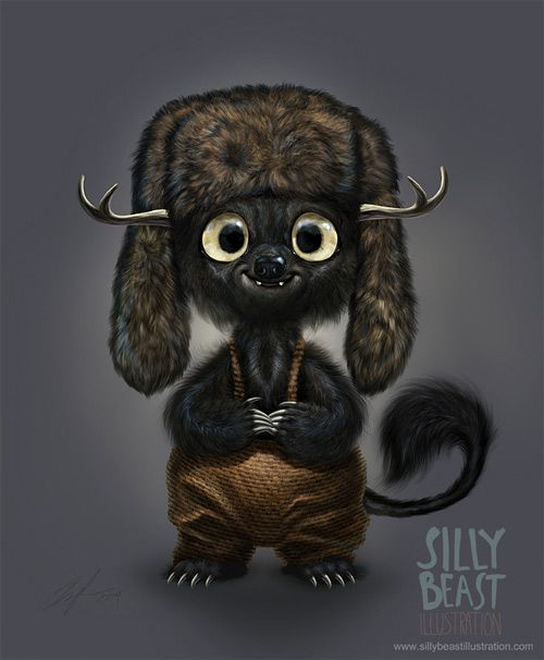 therese larsson animal character design
