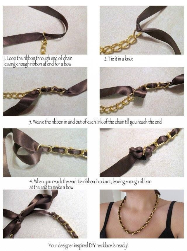 DIY : Step by Step Tutorials for Handmade Necklaces | Jewellery ...