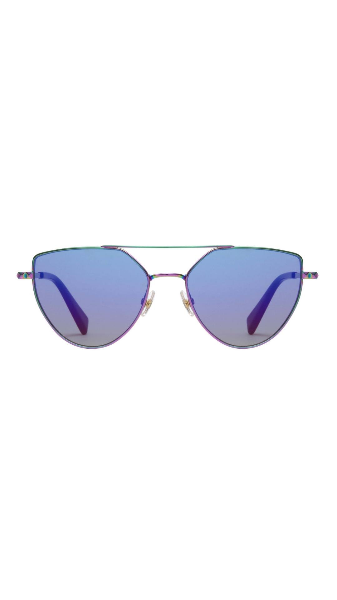 78447f7fd16e1 Stevie Metal Geometric Sunglasses