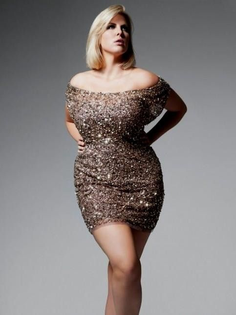 Plus Size Gold Sequin Dress 2016 2017 B2b Fashion Later