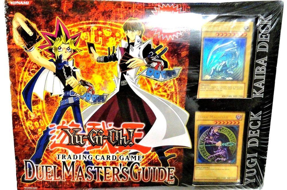 Yu Gi Oh Yugioh Duel Masters Guide Starter Deck Yugi Kaiba Game