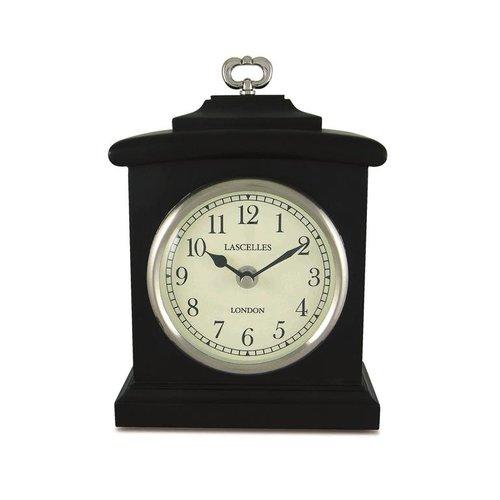 Mant Lasc Blac Mantel Clock British Living Gabriele Gr 228 Fin