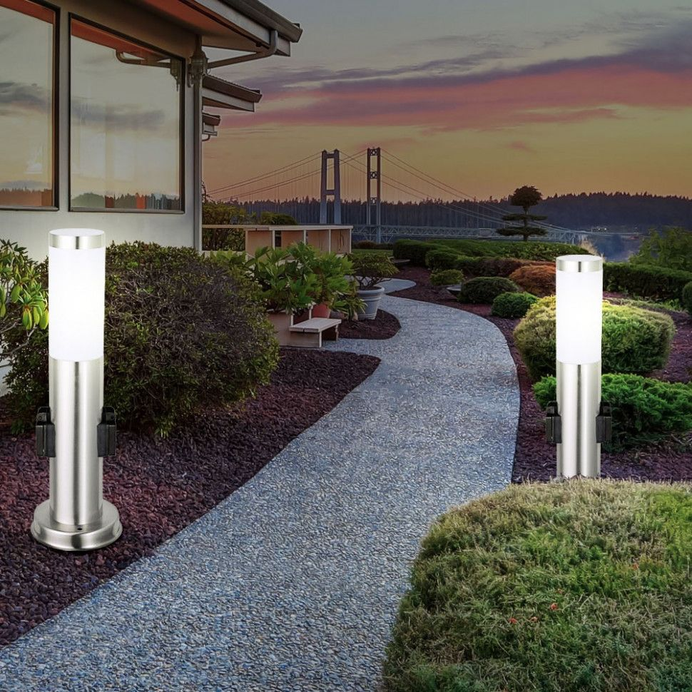 Fuhrte Beleuchtung Garten Sidewalk Structures