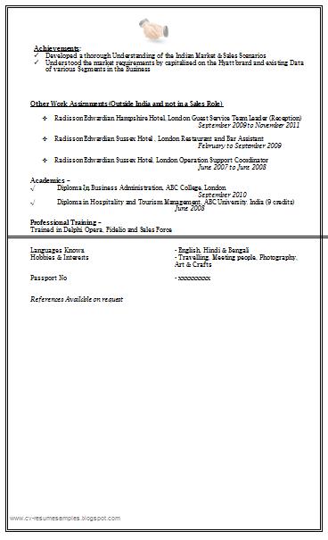 Sales Marketing Resume Sample Doc 2 Marketing Resume Sales And Marketing Resume