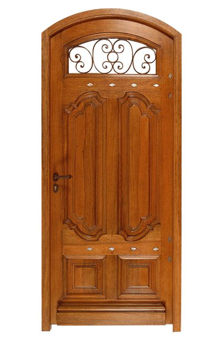 Porte Modèle Domus I Porte Vitrée Avec Grille En Fer Sur Châssis - Porte placard coulissante avec porte vitrée intérieur petit carreaux