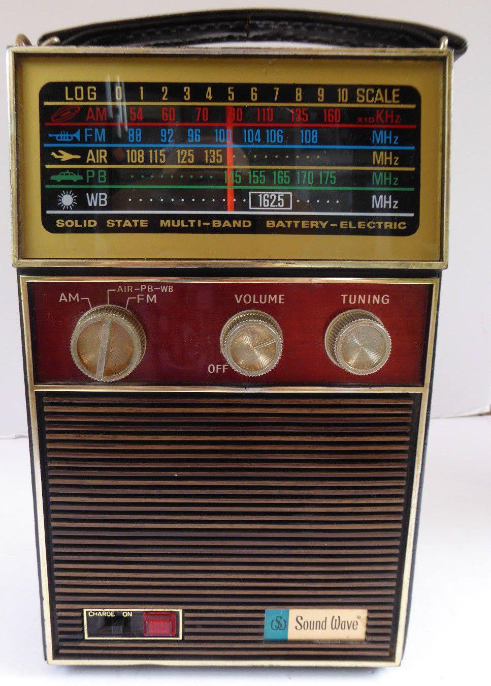 Sound Wave multi band Vintage radio, Transistor radio