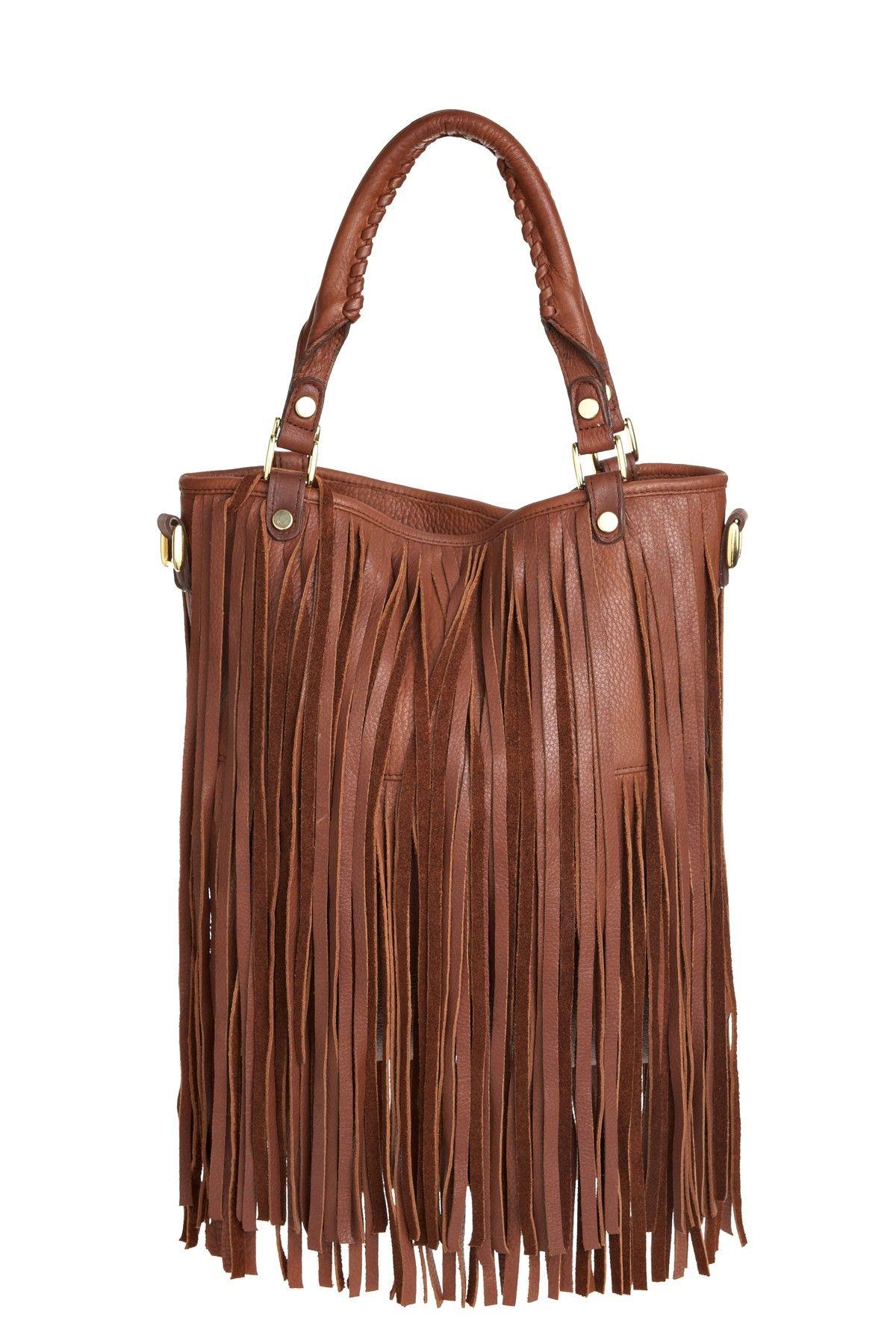 Twiggy Fringe Handbag (With images) Trendy handbags
