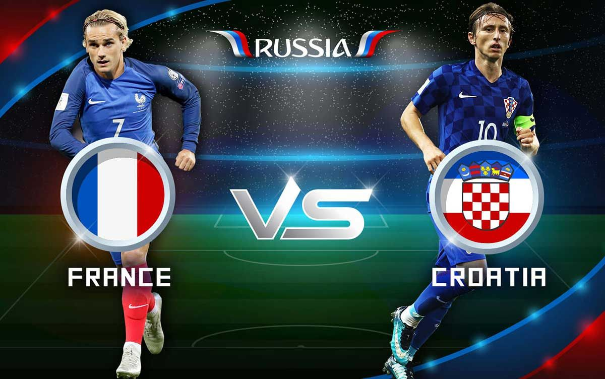 Fifa World Cup 2018 Final France Vs Croatia Live Stream World Cup Fifa World Cup Croatia