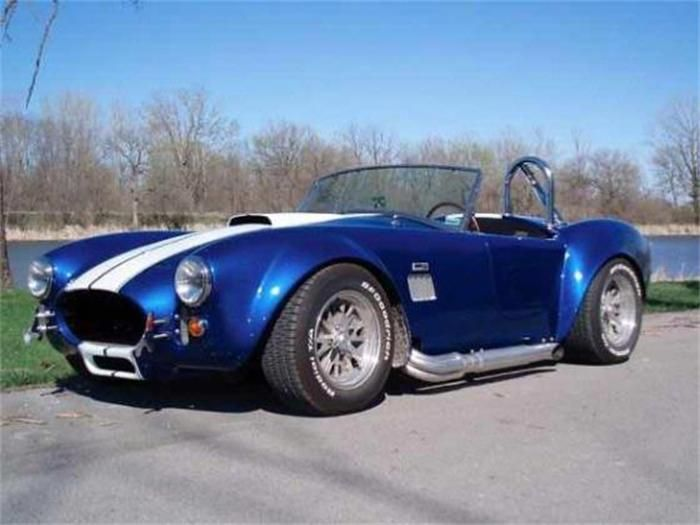 Cheap Jeeps For Sale >> Navy Blue AC Cobra w/ Parallel white stripes...the first ...
