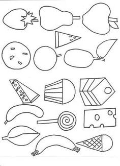 Very Hungry Caterpillar Coloring Pages - AZ Coloring Pages ...