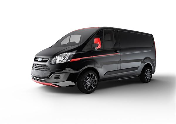 New Transit Colour Scheme Here In Stylish Black With Images Transit Custom Ford Transit Ford Van