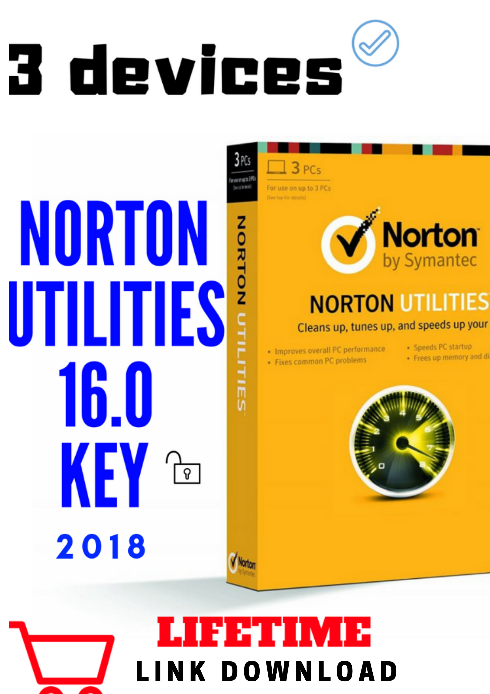 PC//MAC//Android//iOS Key Card ✔NEW✔ 2018 Norton Security Deluxe 10 Devices