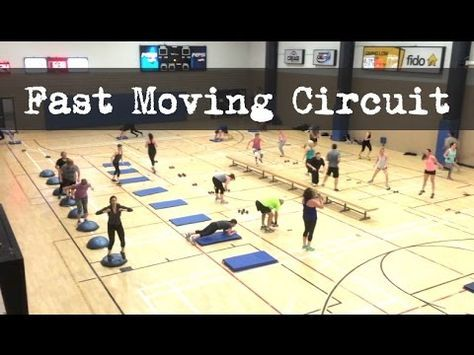 moving circuit  high intensity group workouts  youtube