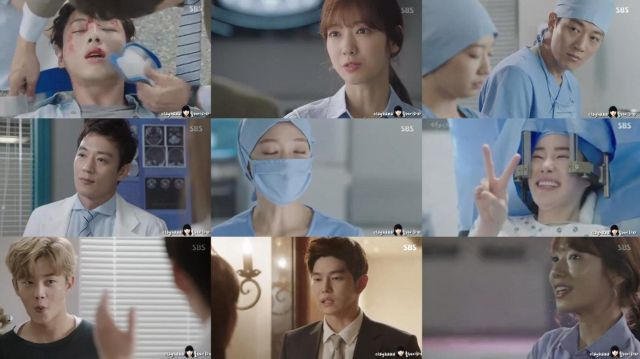 Hancinema S Drama Review Doctors Episode 8 Drama My Annoying