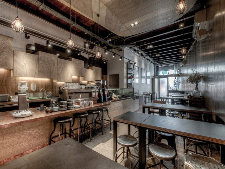 While It 39 S A Relatively New Addition To Singapore 39 S Cafe Roster It Opened In 2012 The Department Of Coffee Shop Cool Cafe Restaurant Interior Design