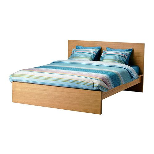 Malm Bed Frame High Luröy 140x200 Cm Ikea