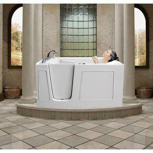 Meditub 30 X 60 X 38 In Walk In Tub 3060 Series Walk In Bathtub