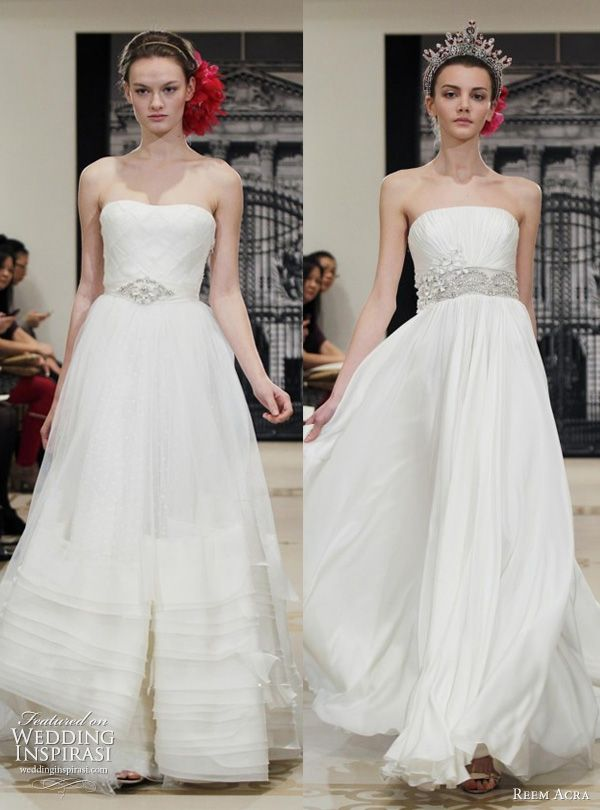 45a97202c5 Reem Acra Wedding Dresses Spring 2012 Yes I Can Be A