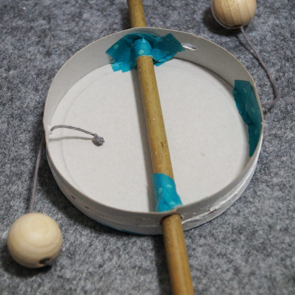 Musikinstrumente basteln - Basteln mit Kindern