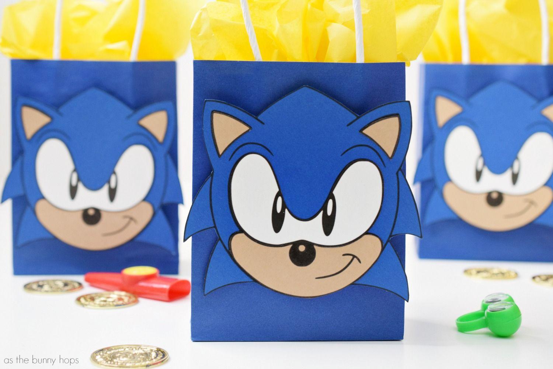 Sonic The Hedgehog Party Favor Bags sonicthehedgehog