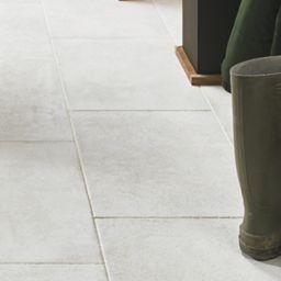Wickes Como Limestone Porcelain Tile 600 X 400mm Wickes Co Uk Limestone Tile Flooring Kitchen Flooring