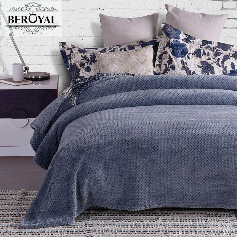 2017 MMY Blanket Brand Coral Fleece Blanket Europe Spring/autumn ...