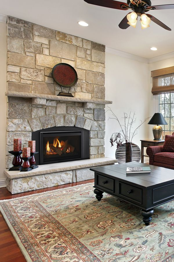 Ruby Direct Vent Gas Fireplace Insert by Majestic - Shop Fireplace Inserts in 2020 | Wood ...