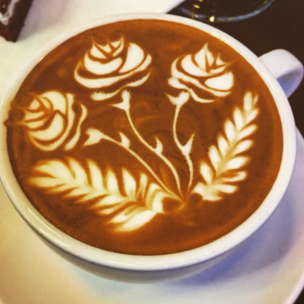 Rose Latte Coffee Art Cappuccino Art Latte Art