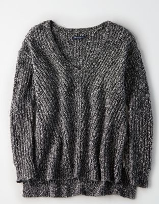 95d5f6ff3af7c AE V-Neck Side Zip Pullover by American Eagle Outfitters | Sweater weather  forever. Cozy up with an edge.Sweater weather forever. Cozy up with an edge.