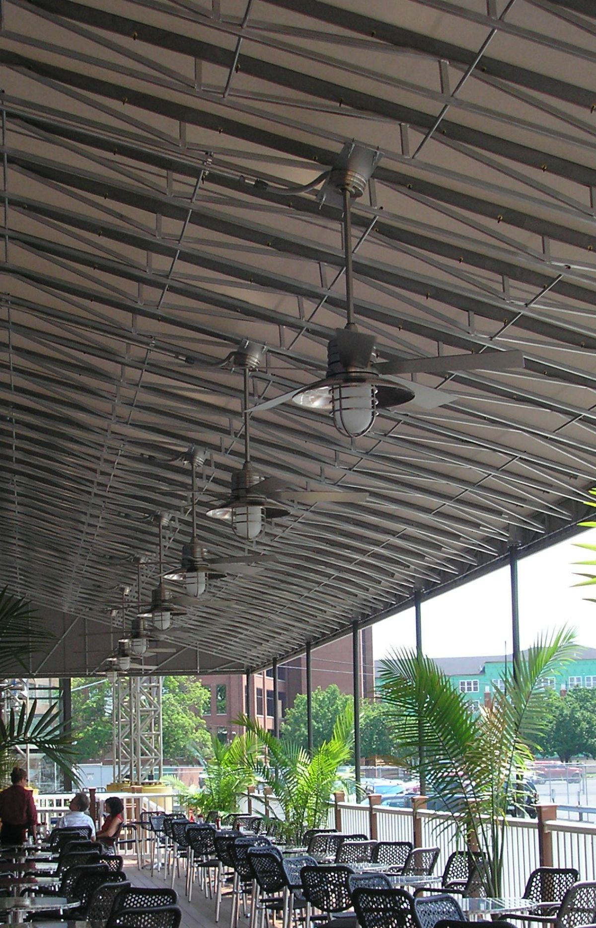 Eat outside! Expand your seating area by adding a dining canopy to your restaurant. & Eat outside! Expand your seating area by adding a dining canopy to ...