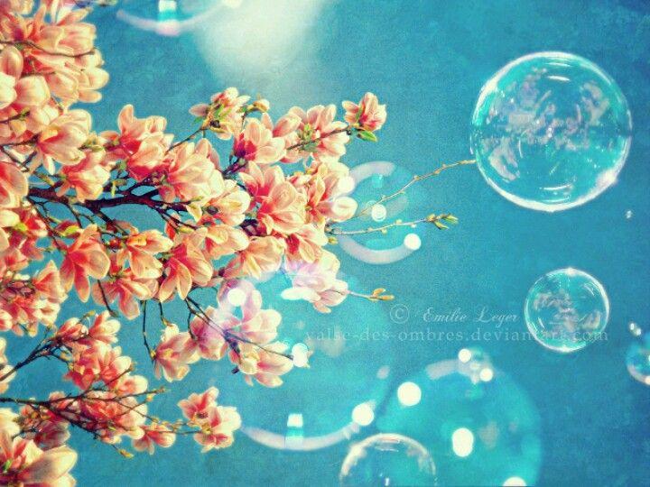 Flowers&& Bubbles