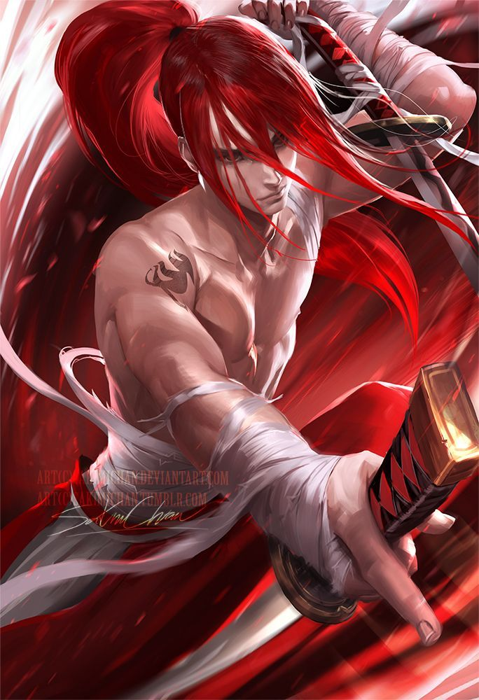 Nude erza scarlet Erza_Scarlet