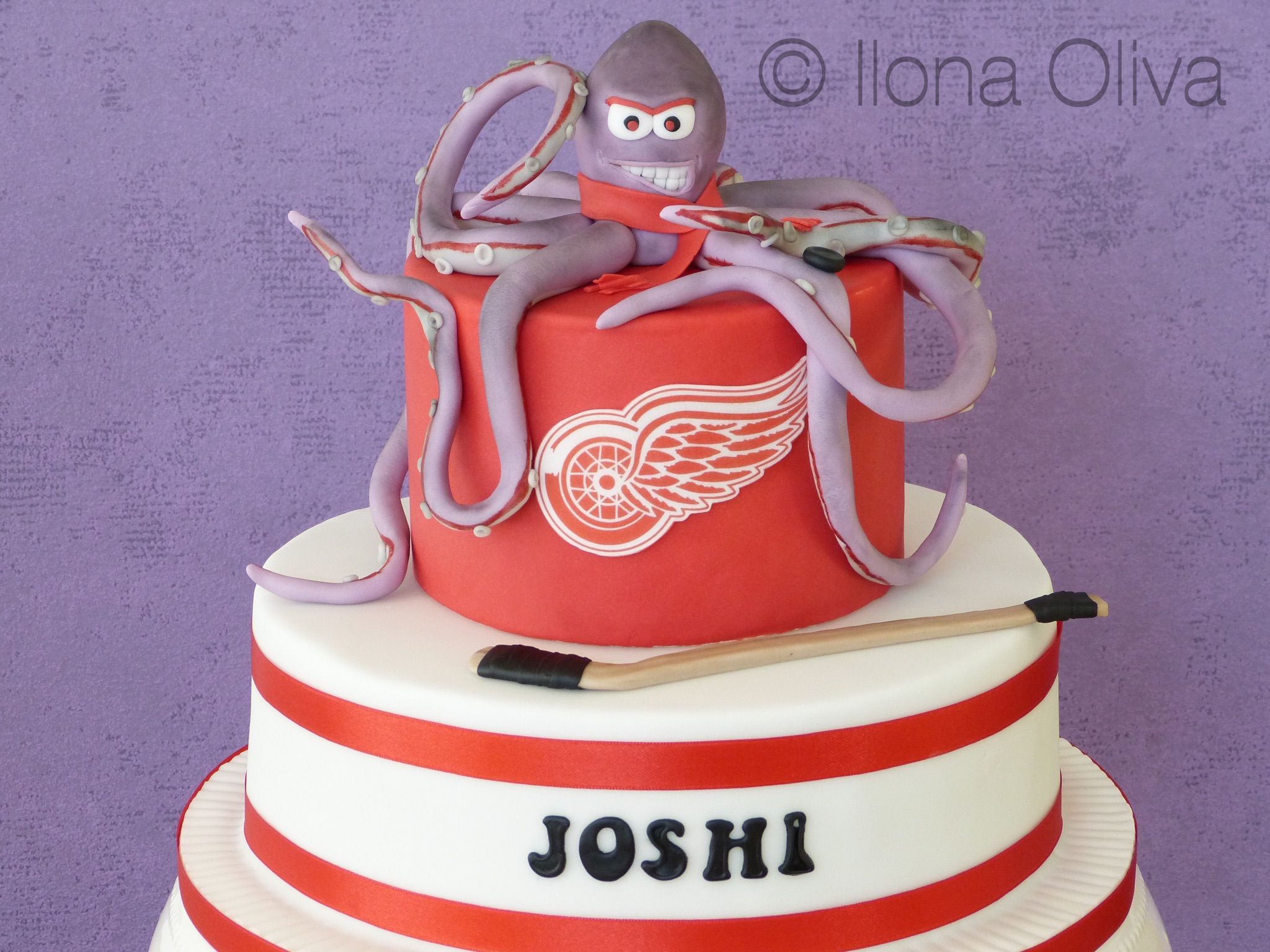 Detroit Red Wings Cake | Stanley cup party in 2018 | Pinterest | Cake