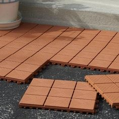 Cheap Landscaping Ideas for Slopes | 12-Pc. Patio Pavers ... on Economical Patio Ideas  id=75565