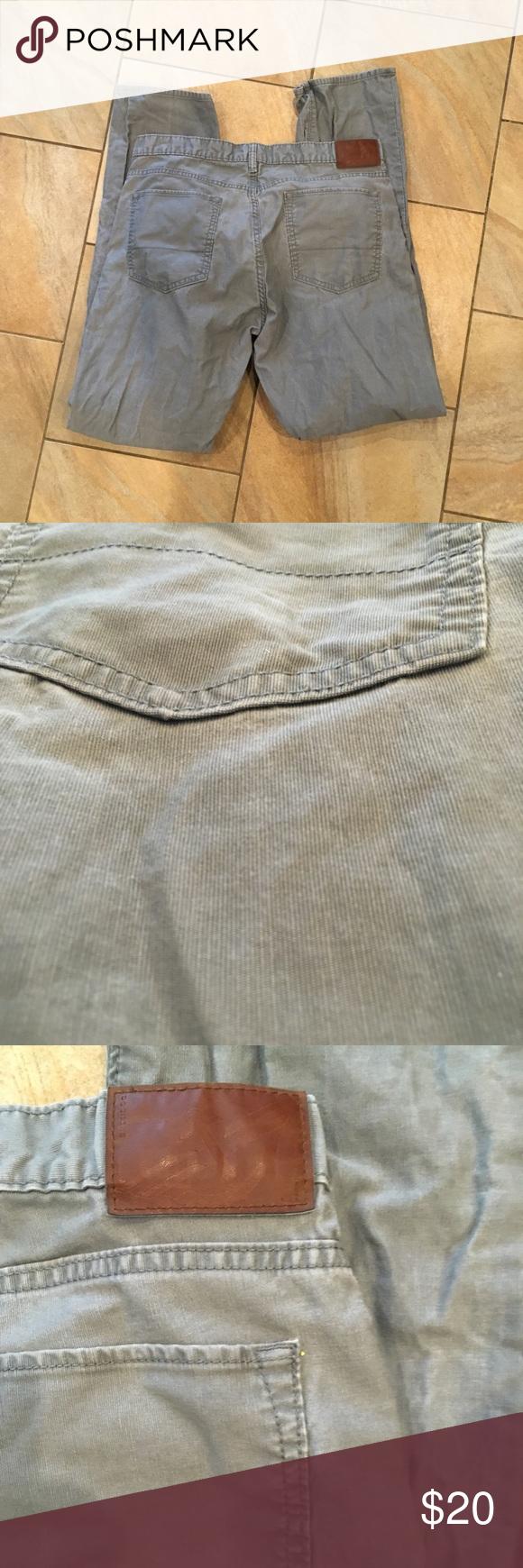 Men S Dockers Ultra Thin Ribbed Corduroy Pants These Are Grey Super Thin Ribbing Corduroy Pants Almost Denim 36x34 Pl Clothes Design Fashion Fashion Design