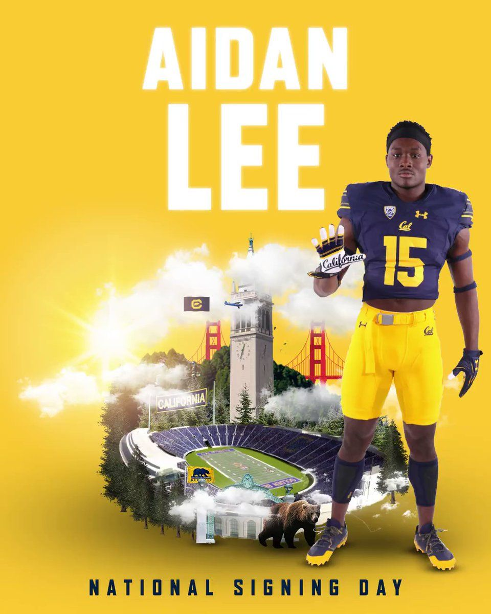 Cal Football On Twitter Lee Leeaidan A Strong Athletic