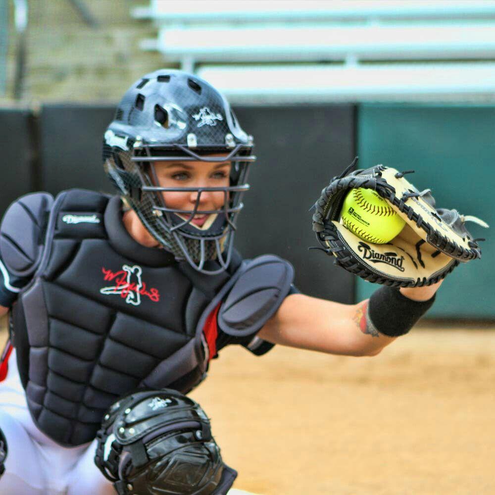 Megan Willis USA Olympian Softball PlayerCatcher