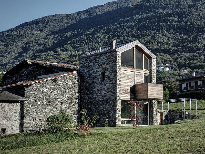 maison renovee pierre
