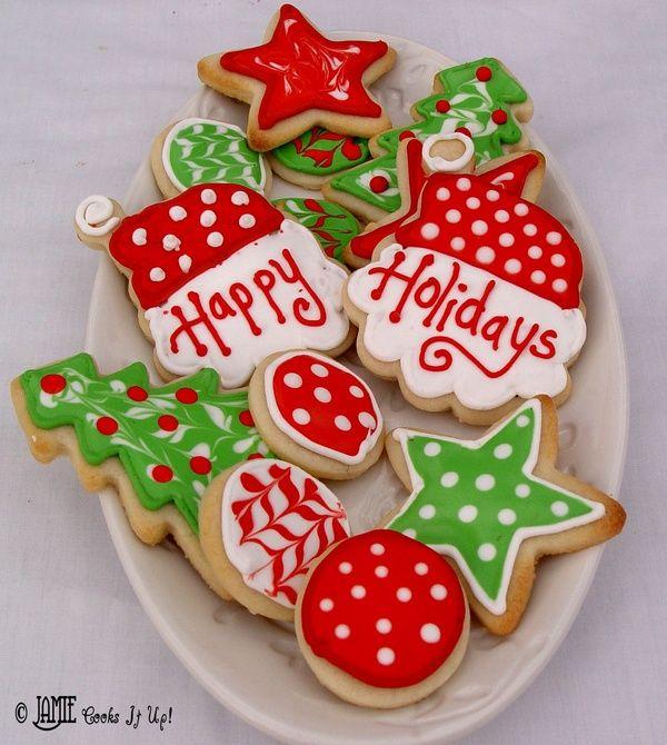Christmas Sugar Cookies GABBY\u0027S pins Pinterest Christmas sugar