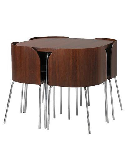 table/chairs | Efficient | Space saving dining table, Ikea ...