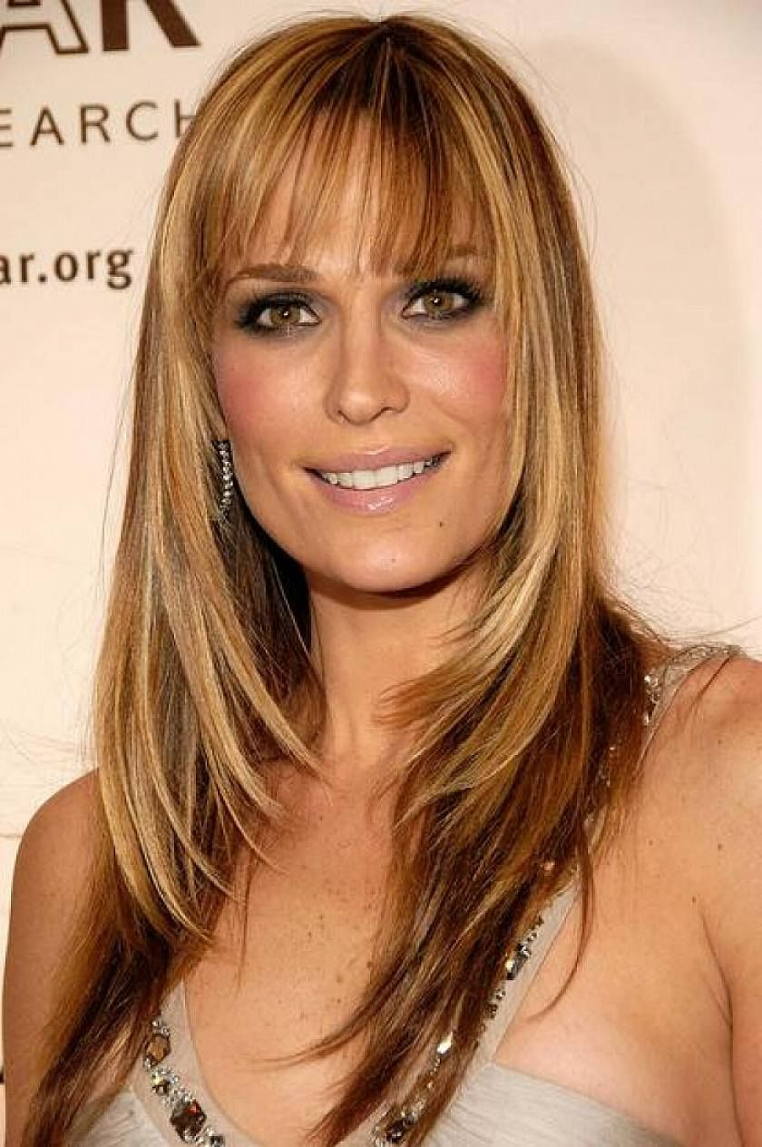 Hairstyles For Long Thin Hair Women 2014 Cute Long Layered Hairstyles For Thin Hair With Bangs For Long Thin Hair Haircuts For Long Hair Long Hair With Bangs
