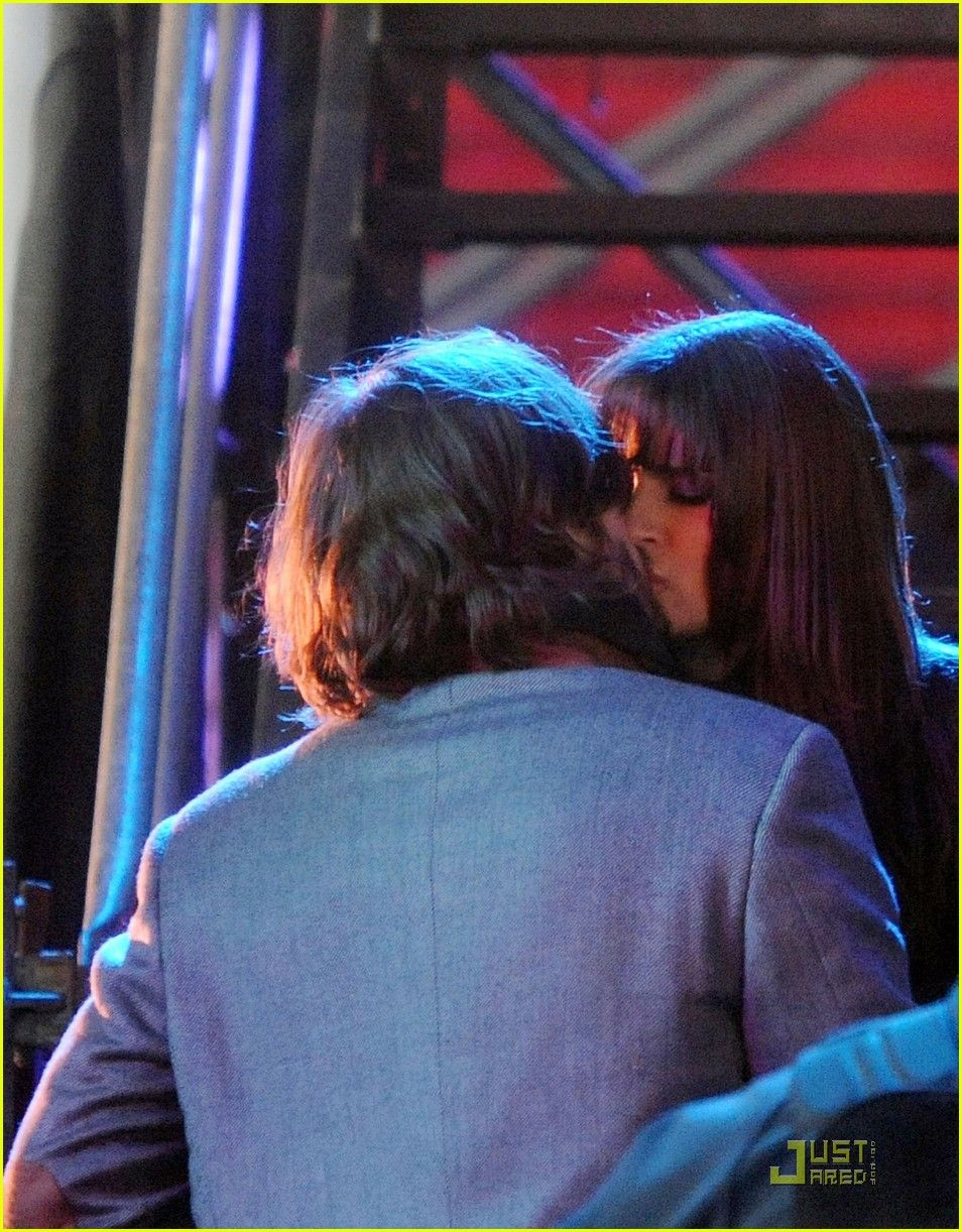 Lea Michele And Ashton Kutcher As Randy Elise Two Lovers Who