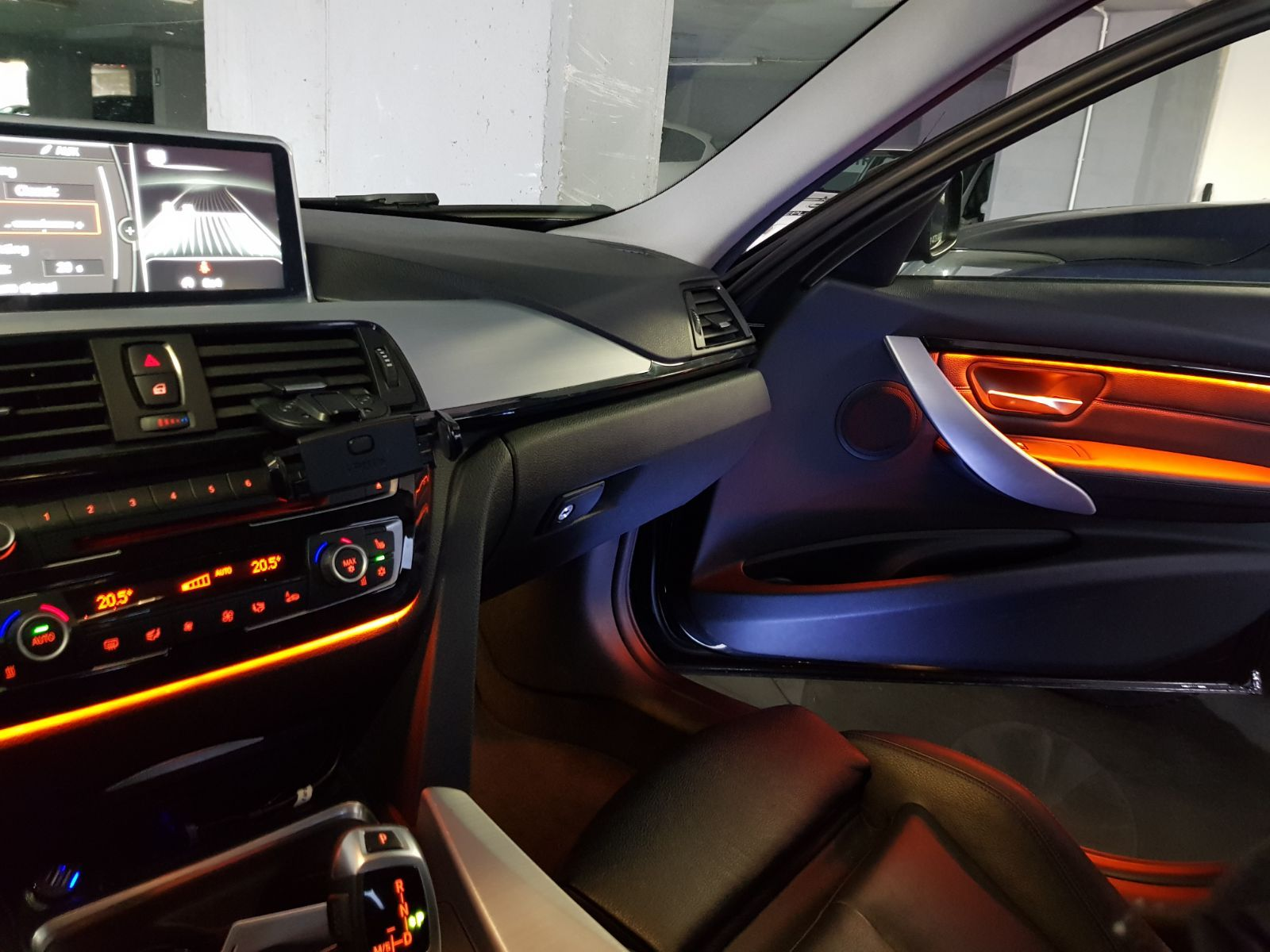 small resolution of high quality after market bmw f30 interior door panel decorative trim led ambient lights lighting upgrade by retrofit kits