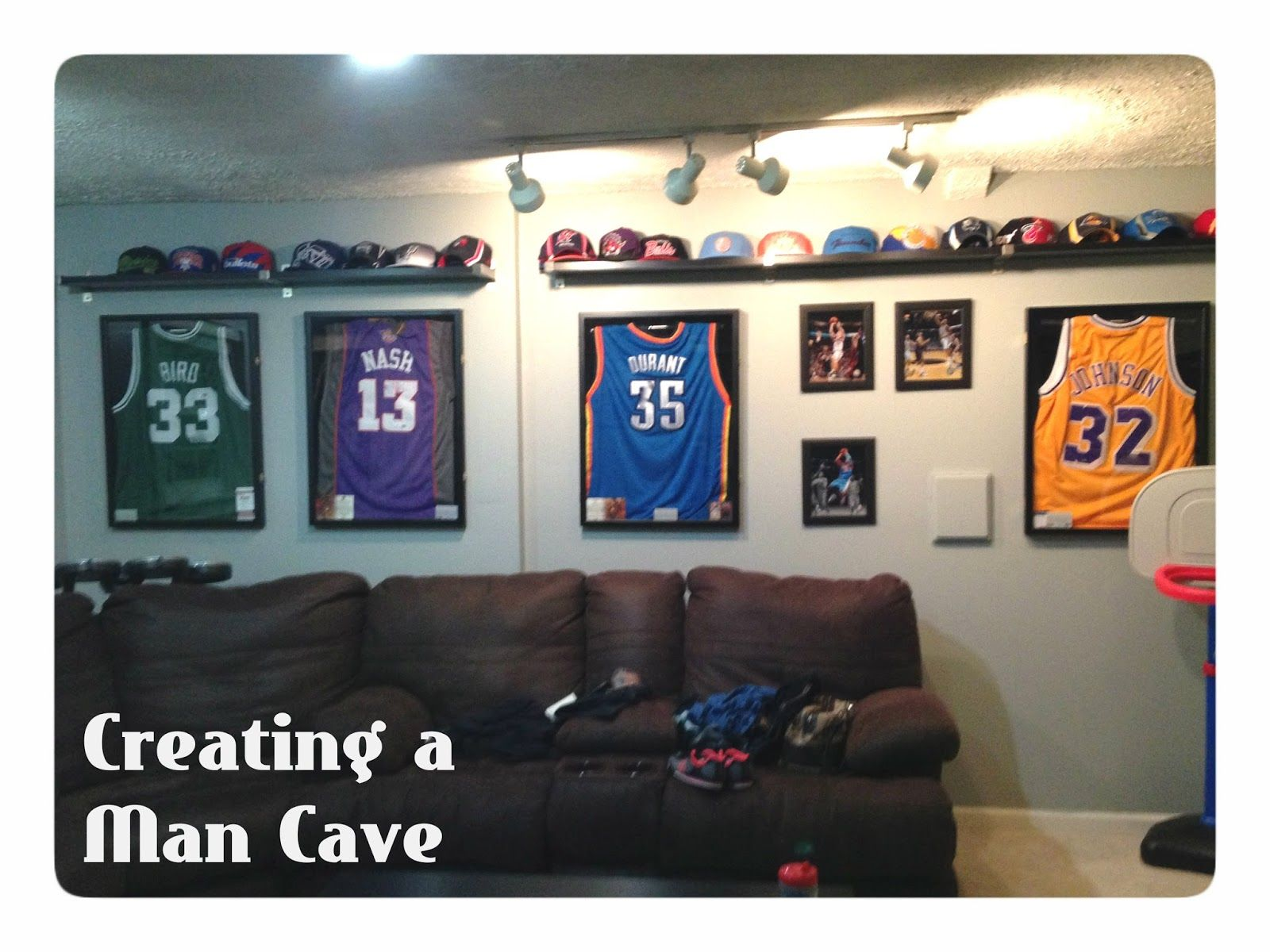 Little Brick Home Creating A Man Cave Man Cave Man Cave Basement Man Cave Ideas Cheap