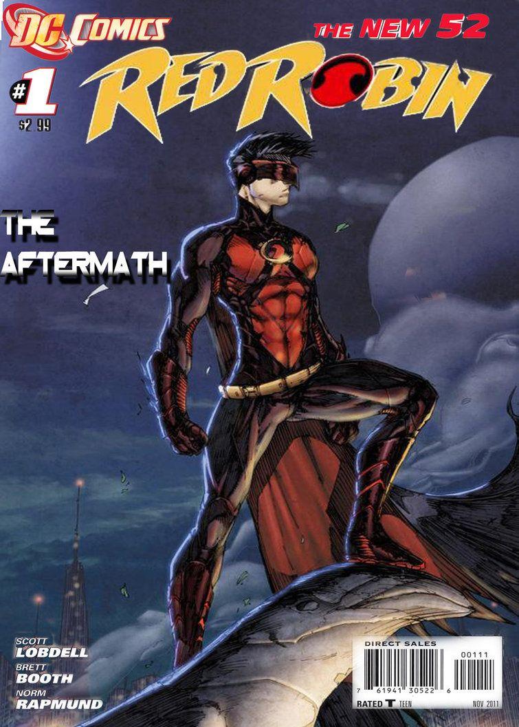 DC Comics Red Robin New 52 Dc Comics Pinterest See