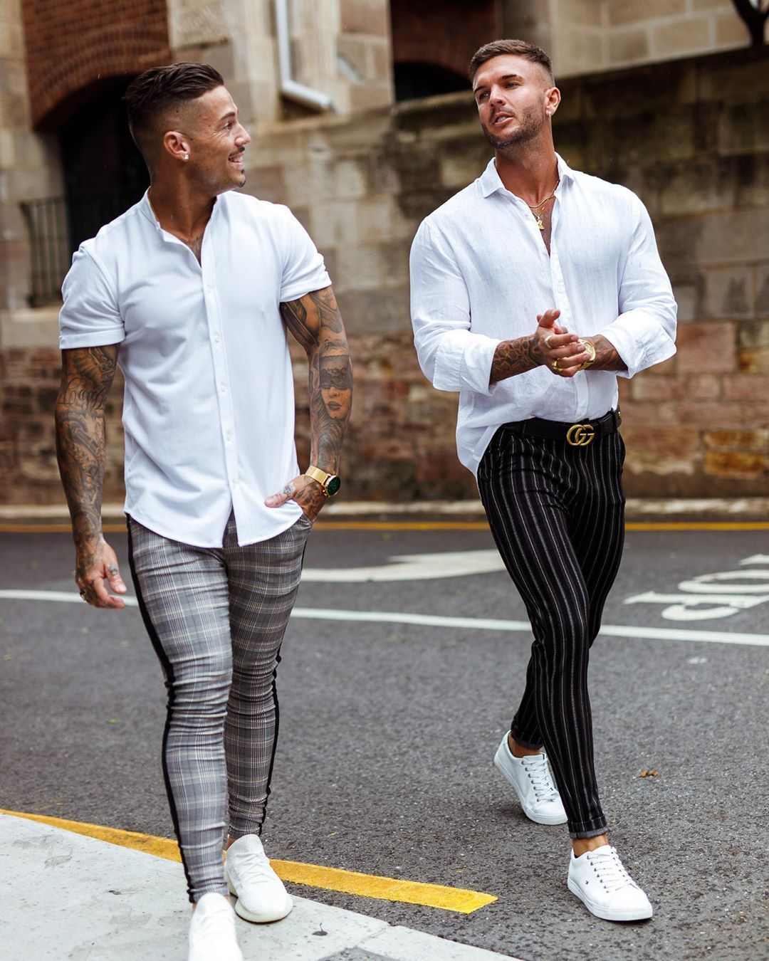 Gingtto Mens Chinos Black Vertical Striped Trousers Slim Fit Stretch Skinny Pant Mens Outfits Pants Outfit Men Chinos Men Outfit [ 1350 x 1080 Pixel ]